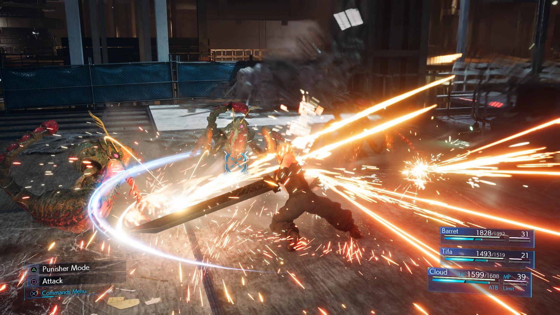 Final Fantasy Vii Remake Hard Mode Builds And Tips Splash Damage Bros